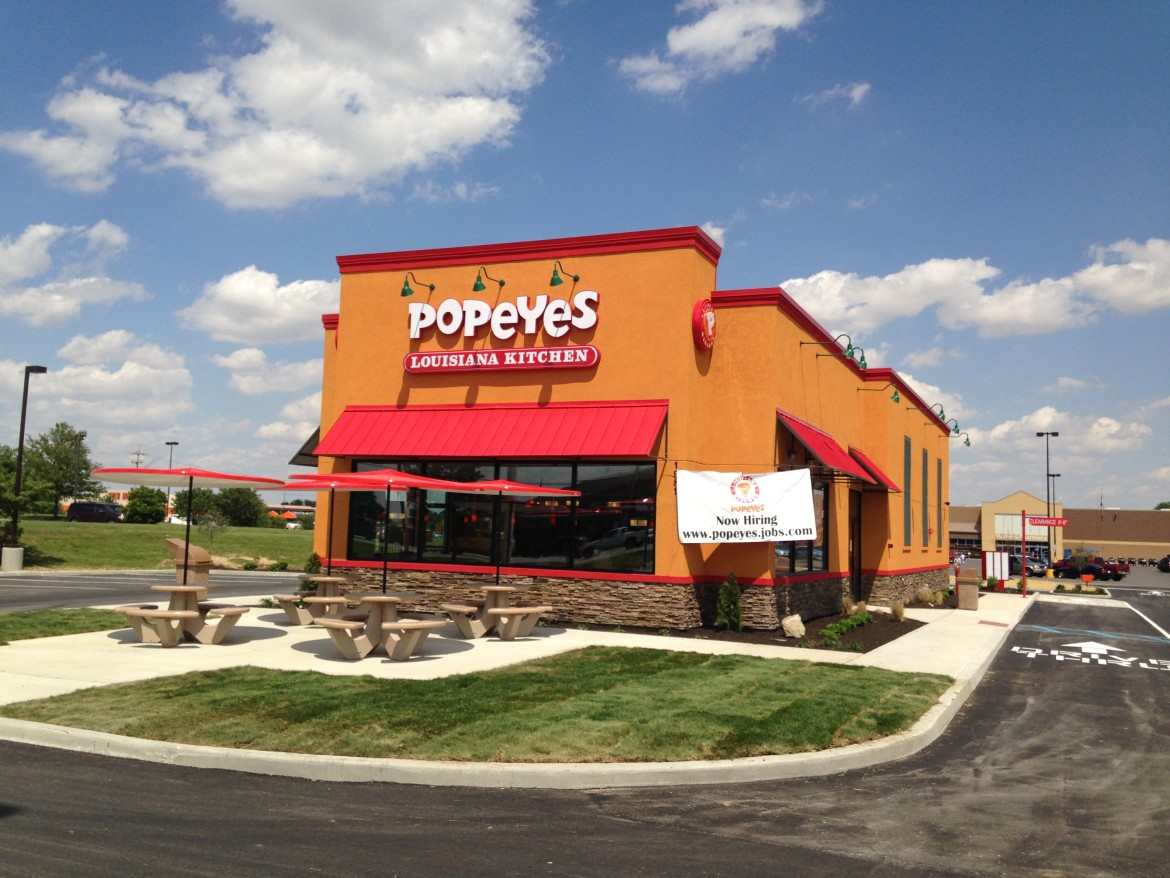 Popeyes Louisiana Kitchen Building popeyes louisiana kitchen-greenfield, in | cpm construction