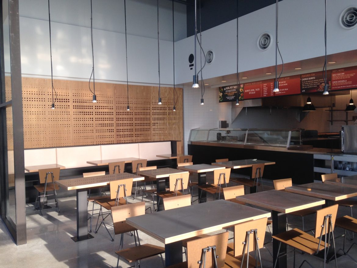 Chipotle Mexican Grill Noblesville In Cpm Construction